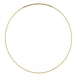 Goldplated Soft necklace OM125 50cm