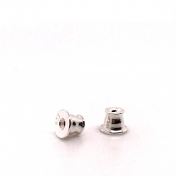 Ear pin plug with silicon BG
