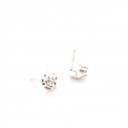 Earpin with rose