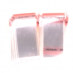 Plastic bags with tape 60/80