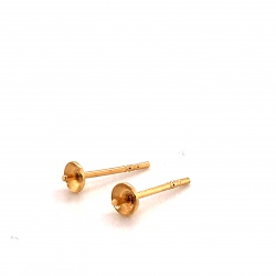 Ear pin with a bowl GWS4P