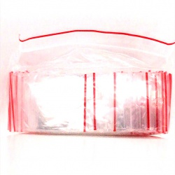 Recloseable plastic bag 160/220