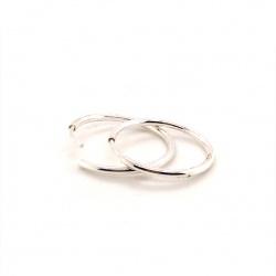 Earrings circles T3018
