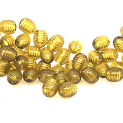 Twisted plastic clasps for chaplets